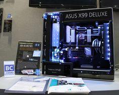 Asus Project Unity by Dave Alcock (Davido Labido) Computer Build, Computer Case, Pc Setup, Gaming Setup, Diy Tech, Computer Engineering, Custom Pc, Asus Rog, Desktop