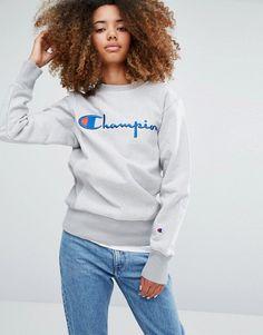 Champion | Champion Oversized Sweatshirt With Script Logo
