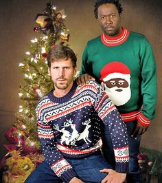 From Santa to ugly sweaters, this collection will make you laugh with the funniest Christmas pictures you'll see in a long time. Best Christmas Sweaters, Tacky Christmas Sweater, Ugly Sweater Party, Christmas Humor, Holiday Sweaters, Merry Christmas, Christmas Lunch, Poorly Dressed, Vintage Christmas