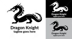 The dragon symbol with a golden color. Features : Available in Ai, EPS Color CMYK Vector format. Logo Dragon, Knight Logo, Dragon Knight, Pictogram, Cat Breeds, Wordpress Theme, Jewellery, Logos, Dragons