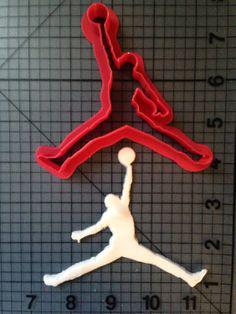 Air Jordan Cookie Cutter by JBCookieCutters on Etsy, $4.50