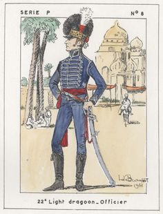 British; 22nd Light Dragoons, Officer, Egypt, 1801