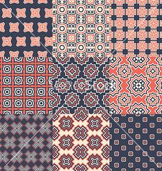 Pattern set vector- by Favete on VectorStock®