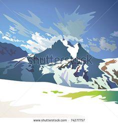 http://www.shutterstock.com/pic-74277757/stock-vector-mountain-landscape-vector.html