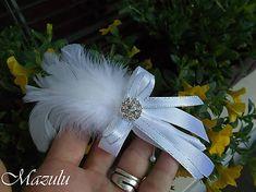 MaZulu / svadobné pierko v striebornom