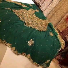 Pakistani Fancy Dresses, Pakistani Wedding Outfits, Pakistani Dress Design, Afghan Clothes, Afghan Dresses, Latest Bridal Dresses, Bridal Outfits, Wedding Lehenga Designs, Balochi Dress