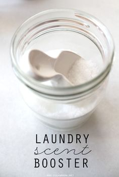 Add some gentle scent to your laundry without any artificial scents or chemicals. Pick your favorite essential oils to add in!