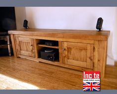TV unit wooden rustic