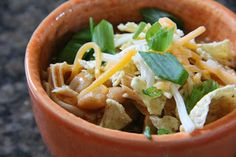 Dinner Tonight: Mexican Chicken Chili
