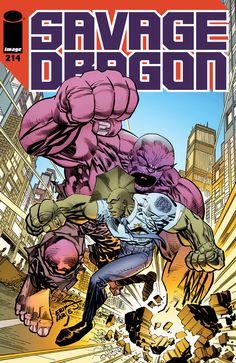 Savage Dragon - Comics by comiXology Image Comics, A Comics, Savage Dragon, Comic Art, Comic Books, Dragon Series, Comic Covers, Book Covers, Best Artist