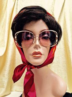 172f48cd3c1 Vintage Tura 1970s Sunglasses Big Bold by ScarlettsFancies Oversized  Sunglasses