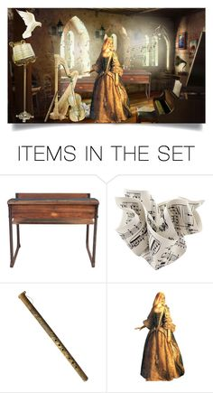 """MUSIC CONSERVATORY"" by marielecastan ❤ liked on Polyvore featuring art"