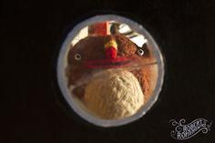 Misza by Robert Romanowicz #felt #sculpture #retro #vintage #toydesign #toy #robertromanowicz #