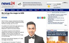 """""""Mo brings the magic to KZN"""" The Magicians, Hold On, Campaign, Bring It On, Content, Medium, News, Naruto Sad, Medium-length Hairstyle"""