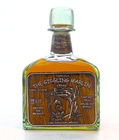 The Giggling Marlin Añejo Tequila - www.oldtowntequila.com