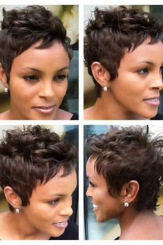 Like Halle Berry's hair...so cute! One day when I'm older and braver!