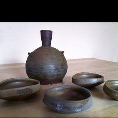 Sam Johnson ceramics from St. Bens. MN