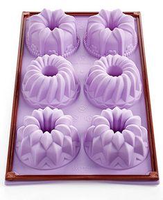 Silikomart Silicone 6 Cavity Fantasy Bundlette Pan - Bakeware - Kitchen - Macy's
