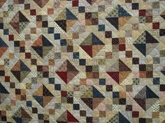 beauty quilt | This 'Buckeye Beauty' quilt was on show at Hever in September 2008 ...