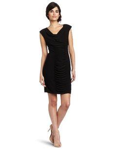 $54 Jessica Howard Women's Rouched Cowl Neck Dress, Black, 8 Jessica Howard http://www.amazon.com/dp/B007G68L5M/ref=cm_sw_r_pi_dp_QNL5vb0X77A04