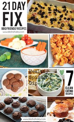 21 day fix BBQ friendly recipes #21dayfix #cleaneating