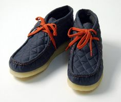 Clarks Wallabee   Quilted