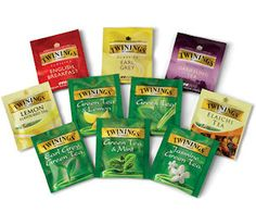 Your Choice of Free Twinings Tea Samples! *HOT*