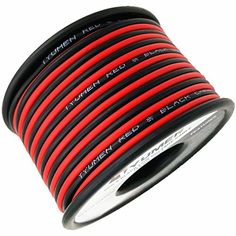 TYUMEN 40FT 18 Gauge 2pin 2 Color Red Black Cable Hookup Electrical Wire LED Strips Extension Wire 12V/24V DC Cable, 18AWG Flexible Wire Extension Cord for LED Ribbon Lamp Tape Lighting. For product info go to:  https://www.caraccessoriesonlinemarket.com/tyumen-40ft-18-gauge-2pin-2-color-red-black-cable-hookup-electrical-wire-led-strips-extension-wire-12v24v-dc-cable-18awg-flexible-wire-extension-cord-for-led-ribbon-lamp-tape-lighting/
