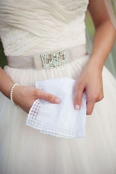we bought a hanky for Nat's wedding from a little old Italian woman in Portofino.  Some day!