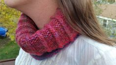 Warm and cozy cowl by LaceMarketKnits on Etsy
