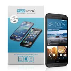 YouSave HTC M9 Screen Protectors x3 | Mobile Madhouse