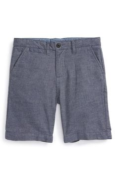 Just A Cheap Shirt Chambray Shorts (Little Boys & Big Boys) available at #Nordstrom
