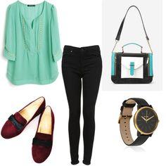Outfit sencillo y a la moda, encuentra más propuestas en http://www.1001consejos.com/