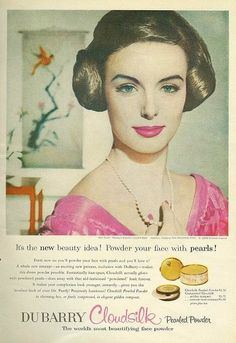 #1950s #vintage #fifties #makeup #beauty #cosmetics #fashion #style #pink #cosmetics #makeup vintage-war-paint