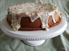 Italian Almond Cake with Almond  Brown Butter Glaze
