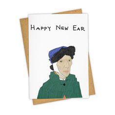 Happy New Ear Greeting Card