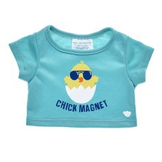 Online Exclusive Chick Magnet T-Shirt Pink Bunny Costume, Disney Princess Toys, Build A Bear Outfits, Teddy Bear Clothes, Easter T Shirts, Bookmarks Kids, Easter Outfit, Cute Tshirts, Shopping Sites