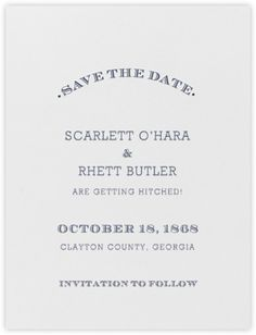 Aperitif (Save The Date) - Navy Blue - Paperless Post