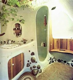 Cob shower and a compost toilet?????