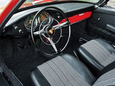 Porsche 901 Coupe Prototype  1962–64  Maintenance/restoration of old/vintage vehicles: the material for new cogs/casters/gears/pads could be cast polyamide which I (Cast polyamide) can produce. My contact: tatjana.alic@windowslive.com