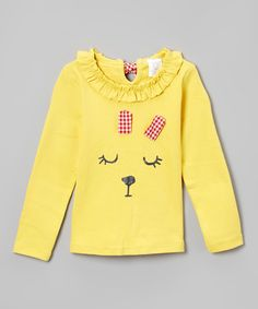 Yellow Bunny Sweater - Infant & Toddler