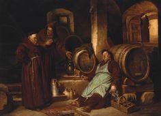 The Drunken Monk by Giuseppe Marastoni
