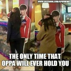 Haha.. But that standee is still not in my country.