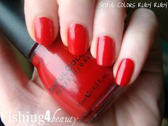 Sinful Colors No Text Red - courtesy of Influenster's Deans List VoxBox I got this great product for free! #DLVoxBox