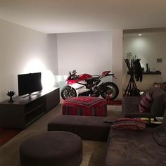 The Anniversario Edition at Home! Courtesy of: Ducati Norte…