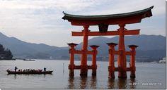 Torii Gate Hiroshima Japan