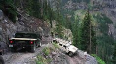 Black Bear Pass, CO.  One of several tight switchbacks