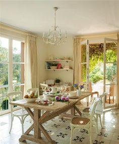 Una casa con escogida decoración internacional · ElMueble.com · Casas