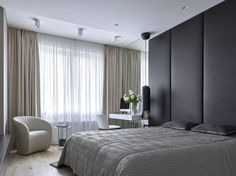 What's Really Happening with Modern Luxury Bedroom Inspirations - fiihaamay Modern Luxury Bedroom, Contemporary Bedroom, Luxurious Bedrooms, Contemporary Style, Small Studio Apartment Design, Apartment Interior Design, Japanese Apartment, Beautiful Interior Design, Modern Interior Design