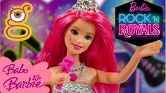 Búp bê Barbie ♥ Búp bê Barbie làm ca sĩ mặc váy, trang điểm siêu lộng lẫ...